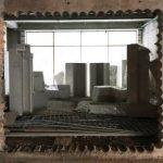 Устройство проема в несущей стене методом алмазного сверления